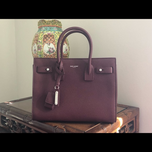 b0e21179f2d2 Saint Laurent baby sac du jour in Bordeaux